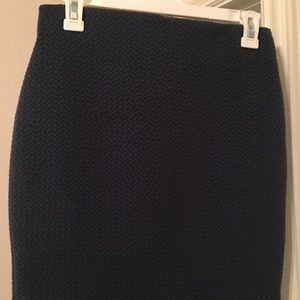 LOFT Blue Navy mini skirt